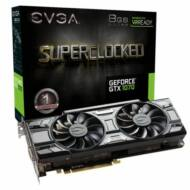 Videókártya EVGA GeForce GTX 1070 8GB DDR5 SC Gaming ACX 3.0 Black Edition