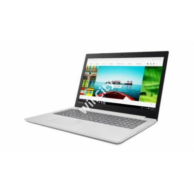 "NB Lenovo Ideapad 320 15,6"" HD - 80XR00AVHV - Fehér - Windows® 10 Home (80XR00AVHV)"