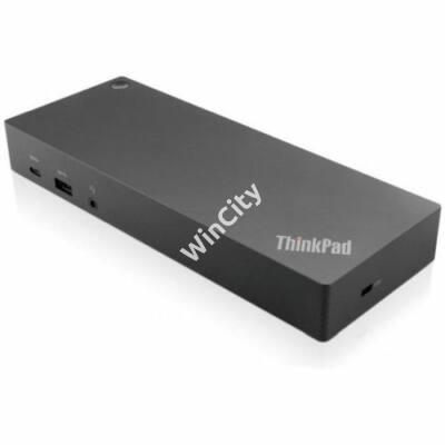 Lenovo ThinkPad Hybrid USB-C Dokkoló - 40AF0135EU - Fekete - 135W