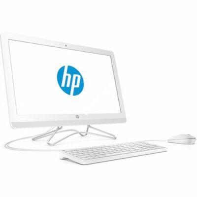 "HP AIO 24-e003nn, 23.8"" FHD AG IPS Intel Core i5 7200U DC, 8GB, 256GB SSD, Hófeh"