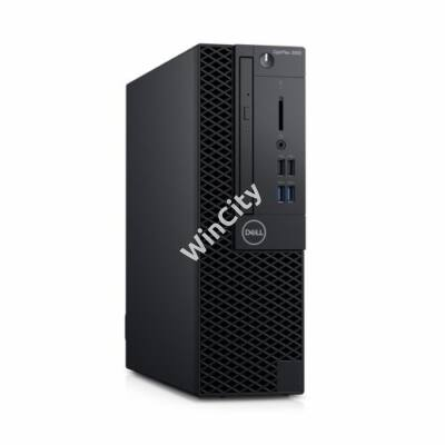 Dell Optiplex 3060SF számítógép Ci3 8100 3.6GHz 8GB 256GB + VGAport Linux