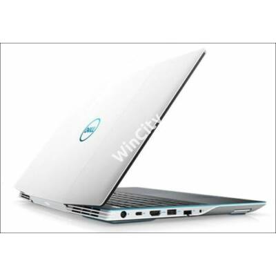 Dell G3 15 Gaming White notebook FHD Ci7 9750H 16GB 256GB+1TB GTX1660Ti Linux (G3590FI7UE5)