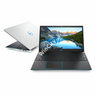 Dell G3 15 Gaming White notebook FHD W10H Ci7 9750H 8GB 512GB GTX1660Ti (G3590FI7WC5)