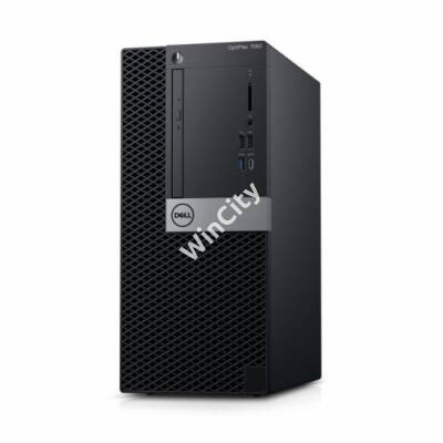Dell Optiplex 7060MT W10Pro számítógép Ci7 8700 3.2GHz 8GB 1TB + 1TB +VGA port