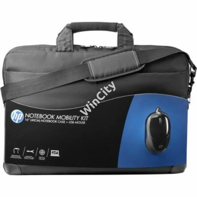 """HP Notebook Mobility Kit 16"""" notebook táska + vezetékes egér"""