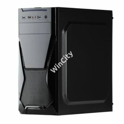 CHS PC Barracuda, Core i5-9400F 2.9GHz, 8GB, 240GB SSD, DVD-RW, Egér+Bill, nVidia GT