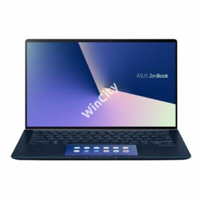 "ASUS NB ZenBook UX434FLC-A5217T 14"" FHD, i7-10510U (4,9GHz), 16GB, 256GB M.2, NV MX 250 2GB, WIN10, Kék"