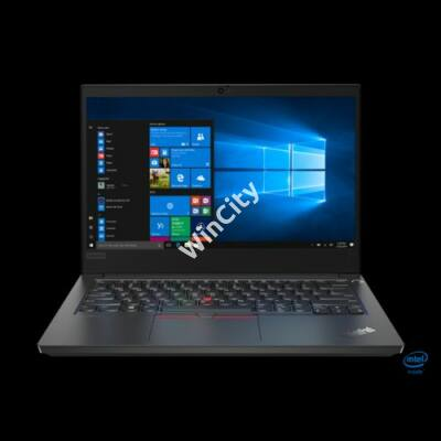 "LENOVO ThinkPad E14, 14.0"" FHD, Intel Core i5-10210U (4C, 4.2GHz), 16GB, 512GB SSD, Win10 Pro, Black."