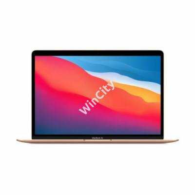 "Apple Macbook Air 13.3"" M1  8C CPU/7C GPU/8GB/256GB - Gold- HUN KB (2020)"