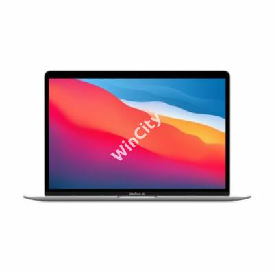 "Apple Macbook Air 13.3"" M1 8C CPU/8C GPU/8GB/512GB - Silver - HUN KB (2020)"