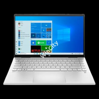 "HP Pavilion x360 14-dy0007nh, 14"" FHD AG IPS, Core i3-1125G4, 8GB, 256GB SSD, Win 10, ezüst"
