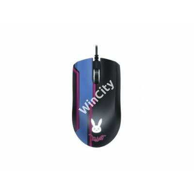 Egér Razer Abyssus Elite D.Va Optikai USB Fekete/Kék/Rosa