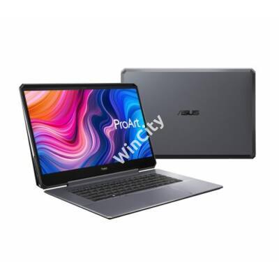 "ASUS ProArt StudioBook One W590G6T 15,6"" 4K/Intel Core i9-9980HK/64GB/1TB SSD/RTX 6000 24GB/Win10 Pro/szürke laptop"