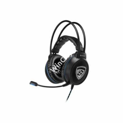 Sharkoon Fejhallgató - Skiller SGH1 (fekete  mikrofon  TRRS 3.5mm jack   hangerőszabályzó  nagy-párnás  2.5m kábel) fd2acd8058