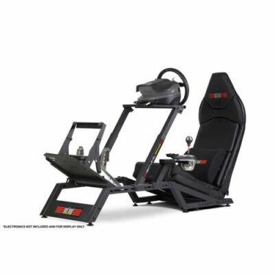 Next Level Racing Szimulátor cockpit - F-GT Formula (Formula ülés; tartó konzolok: kormány, váltó, pedál)